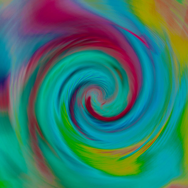 swirling colors